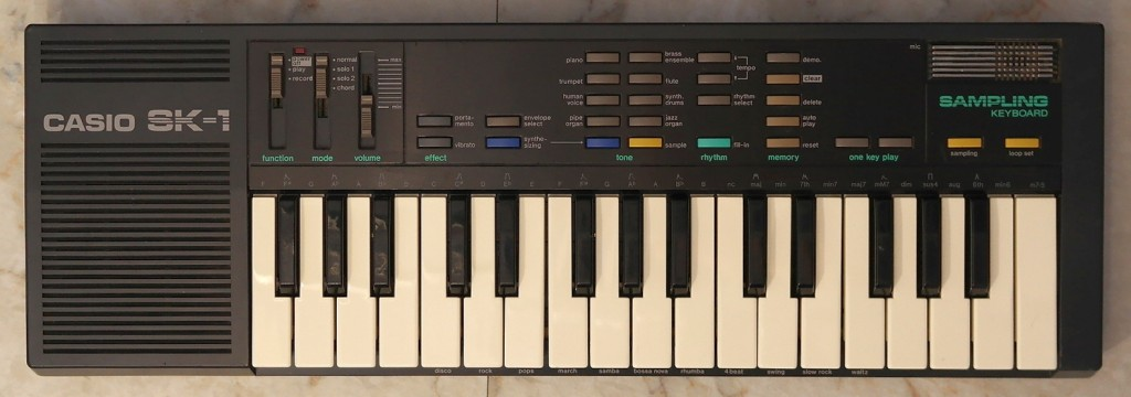 Keyboard: Casio SK-1 - The 8-Bit Guy