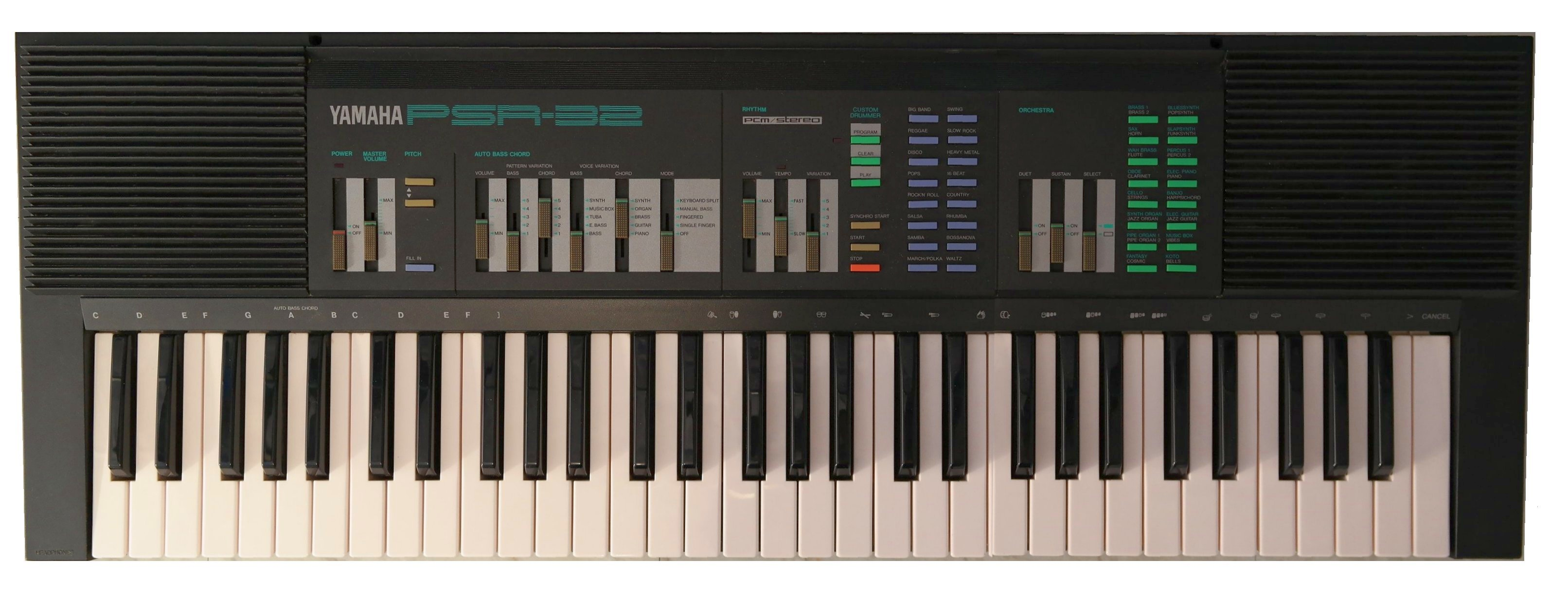 keyboard yamaha psr 31 psr 32 the 8 bit guy. Black Bedroom Furniture Sets. Home Design Ideas