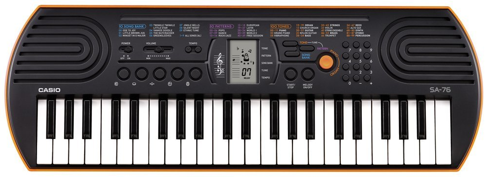 keyboard casio sa 76 the 8 bit guy. Black Bedroom Furniture Sets. Home Design Ideas